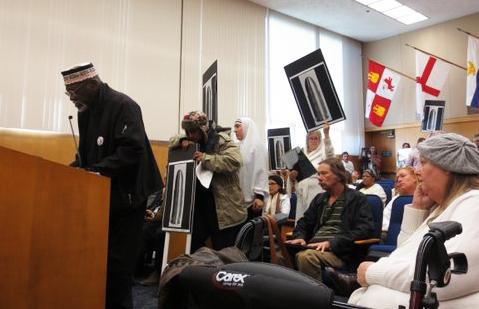 Elbert 'Big Man' Howard testifies re Andy Lopez Sonoma Cty Bd of Sups 010714 by Vesta Copestakes