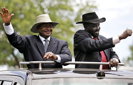 Ugandan-President-Yoweri-Museveni-South-Sudanese-President-Salva-Kiir, The international community's unforgivable betrayal of the people of South Sudan, World News & Views