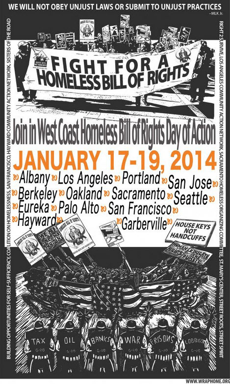 West Coast Days of Action Jan. 17-19, 2014