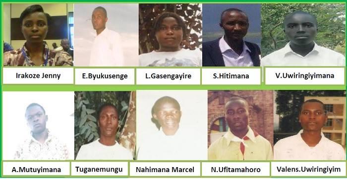 FDU-Inkingi members missing or imprisoned in Rwanda 0214