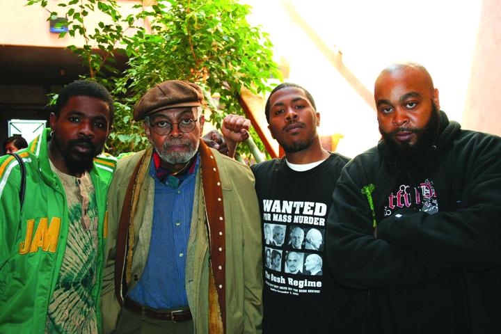Marcel Diallo, Amiri Baraka, son Ahi by JR, web