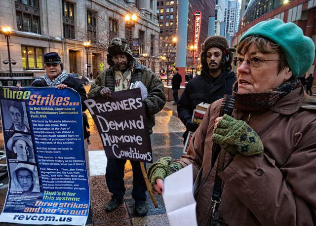 Menard hunger striker support rally Chicago 021314-4