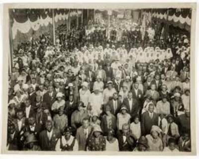 UNIA convention 25,000 delegates Harlem's Liberty Hall 1920
