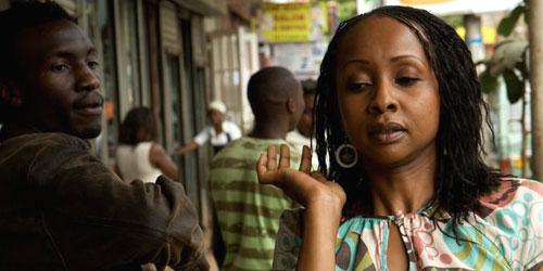 Veteran actor Nini Wacera in 'Nairobi Half Life'