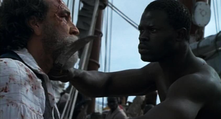 Amistad-scene-Cinque-vs-captain, '12 Years a Slave': What happened to slave rebellion?, Culture Currents