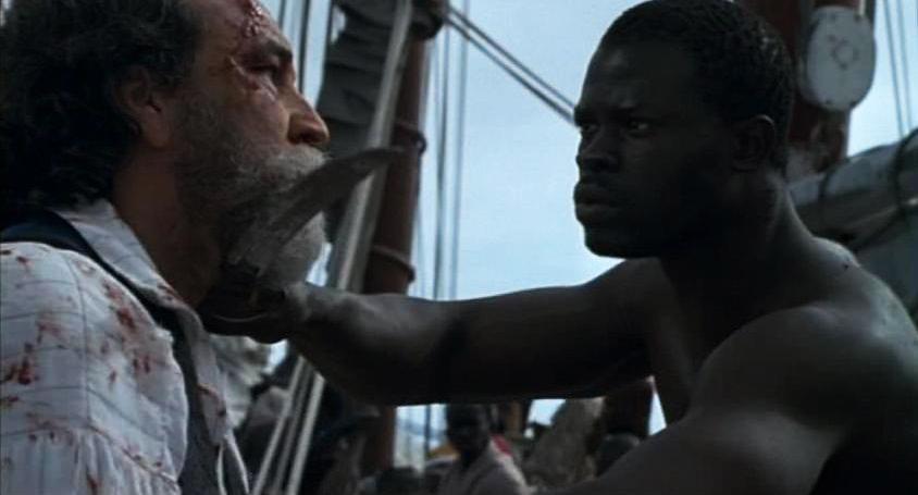 'Amistad' scene Cinque vs captain