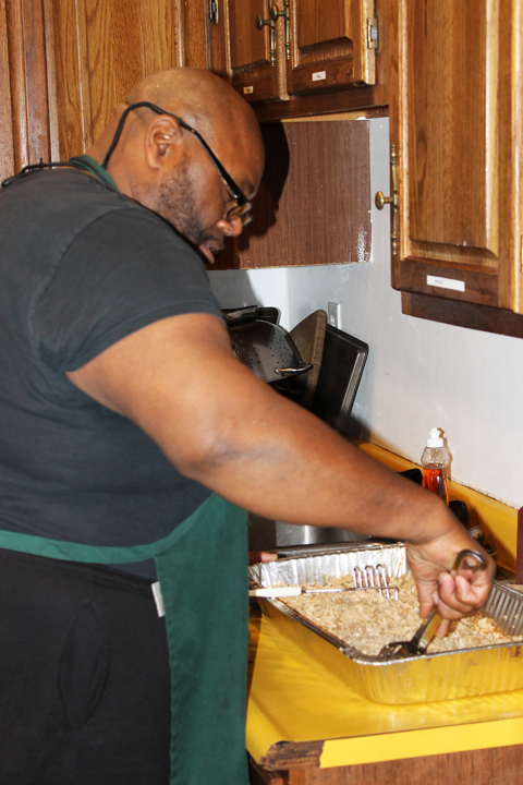College-Prep-parent-volunteer-Ross-Rose-cooks-dinner-daily-by-Laura-Savage, 100% College Prep: Fostering successful youth in the Bayview, Culture Currents
