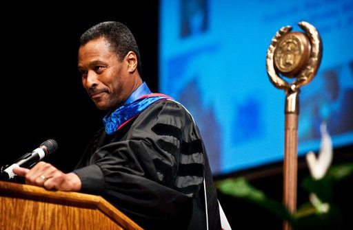 Dr.-John-Silvanus-Wilson-Jr.-speaks-at-a-Fayetteville-State-University-convocation, Wanda's Picks for March 2014, Culture Currents