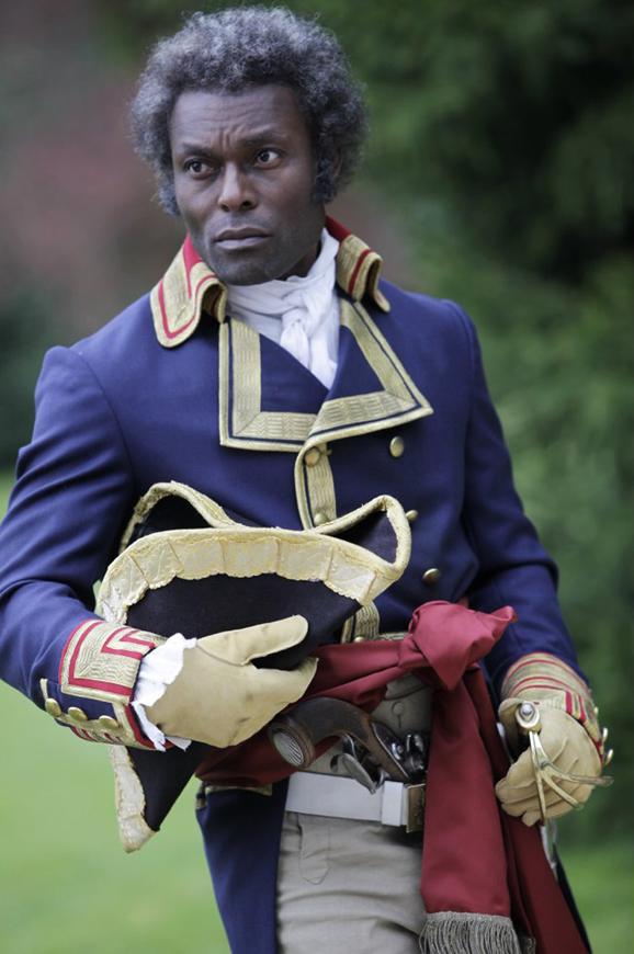 Jimmy Jean-Louis as Toussaint L'Ouverture, web