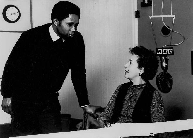 Obi Egbuna Sr., Peggy Ashcroft reading his play GÇÿWind Versus PolygamyGÇÖ on BBC c. 1965