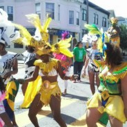 Soca dancing at San Francisco Carnaval