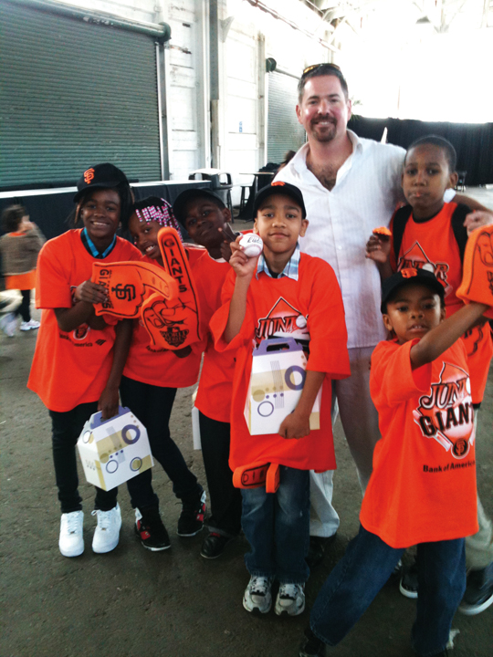 Athletic-Director-Jake-Babick-kids-of-Willie-Mays-Boys-Girls-Club, Third Street Stroll ..., Culture Currents