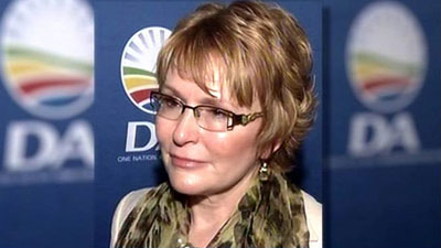 Helen Zille by SABC