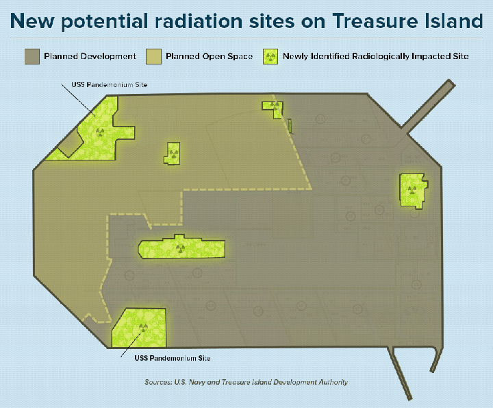 New potential radiation sites on Treasure Island 0812 by Bay Citizen