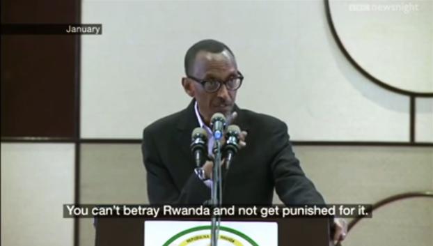 Paul Kagame 'You can't betray Rwanda …' 0113