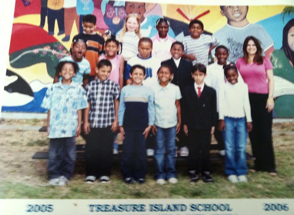 Treasure Island Elementary School class 2005-2006
