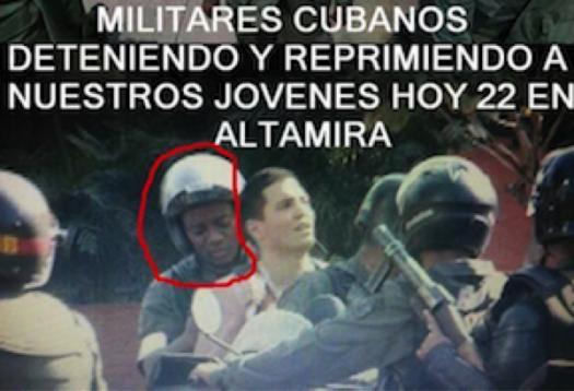 Venezuelan tweet Black (Cuban) 'attack on our youth'