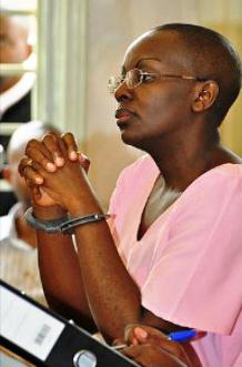 Victoire Ingabire on trial 0911