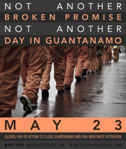 Guantanamo Global Day of Action 052314 poster