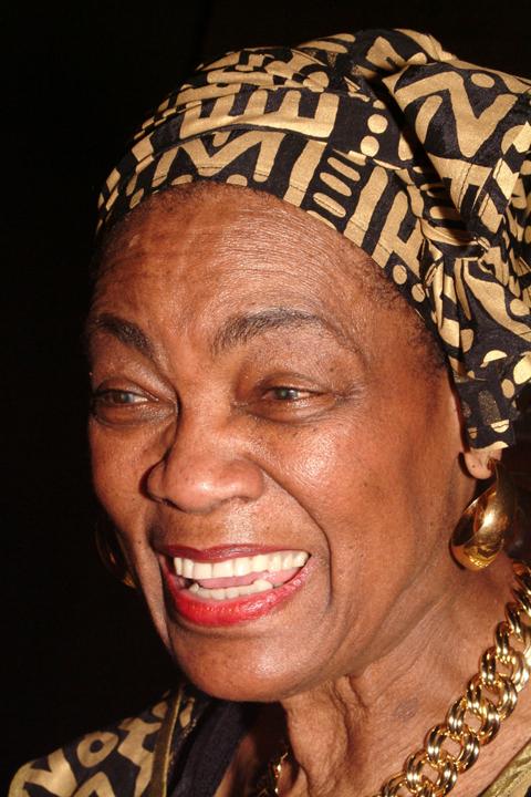 Mabel Williams speaks in Oakland on March 14, 2004. – Photo: Kamau Amen-Ra