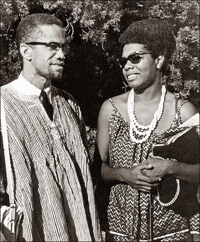 After Maya Angelou met Malcolm X in Ghana, where she was living then, she returned to the U.S. to help him build the Organization of Afro-American Unity.