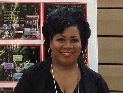 Midtown resident leader Natacha Yarbrough
