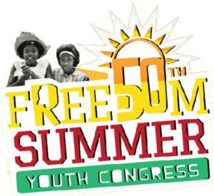 Freedom Summer Youth Congress logo, web