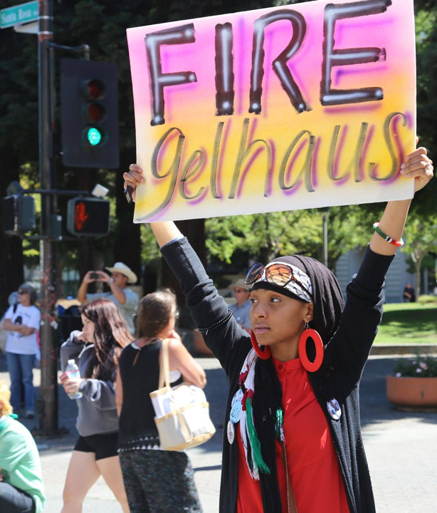 Andy-Lopez-march-rally-Alia-Sharrief-Fire-Gelhaus-071214-by-Daniela-Kantorova, Andy Lopez inspires the people to rise up, to defend! educate! resist!, Local News & Views