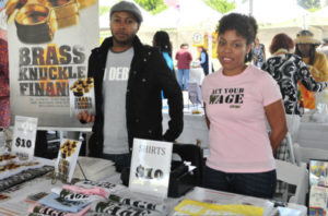 It's a treat to meet young authors along with the celebrities and literary legends at the Leimert Park Village Book Fair.