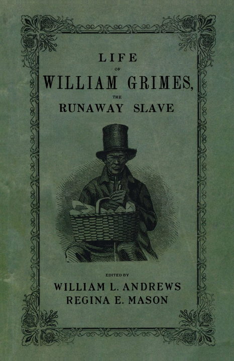 "In a January 2014 story about so-called ""slave narratives,"" prompted by the opening of the film ""12 Years a Slave,"" Sarah Churchwell, writing for The Guardian, starts by discussing ""The Life of William Grimes,"" the first book-length autobiography written by a fugitive enslaved African in the U.S.: ""In 1825 a fugitive slave named William Grimes wrote an autobiography in order to earn $500 to purchase freedom from his erstwhile master, who had discovered his whereabouts in Connecticut and was trying to remand Grimes back into slavery. At the end of his story the fugitive makes a memorable offer: 'If it were not for the stripes on my back which were made while I was a slave, I would in my will, leave my skin a legacy to the government, desiring that it might be taken off and made into parchment, and then bind the Constitution of glorious happy and free America.' Few literary images have more vividly evoked the hypocrisy of a nation that exalted freedom while legitimizing slavery."""