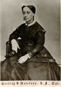 Born a slave, Mary Ellen Pleasant was in her mid-30s when she sailed to California in 1852, initially passing as white. After amassing her fortune and working with John Brown to expand the Underground Railroad to California, she changed her race legally to Black.
