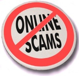 No 'Online scams' button