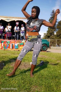 Food, music, futbol (soccer) – Umoja African Festival has it all; come to West Oakland Saturday, Aug. 16, for a never-to-be-forgotten pan-African day of celebration and fellowship in Lowell Park. – Photo: Pochina Press