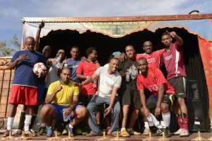 The futbol (soccer) tournament at the Umoja African Festival is the first in the Bay to pit teams from different African nations against each other. Many players were stars back home. – Photo: Pochina Press