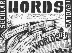 """Words Are Effective II"" – Art: Criss Garcia, J-93559, PBSP SHU C1-112, P.O. Box 7500, Crescent City CA 95532"