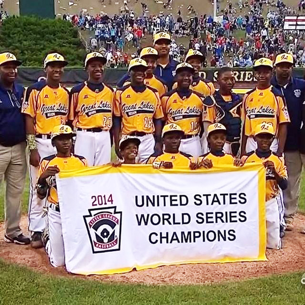 Then they became United States champs. But today the team from Seoul, Korea, representing the Asia-Pacific group, beat them 8-4 to win the world championship.