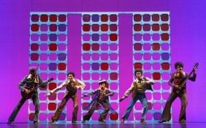 "The Jackson 5 in the touring company of ""Motown the Musical"""