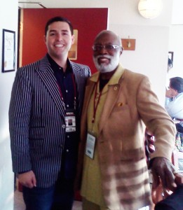 49ers CEO Jed York with True Hope Pastor Arelious Walker