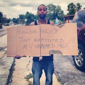 Michael Brown's step-father, Louis Head, indicts the police.