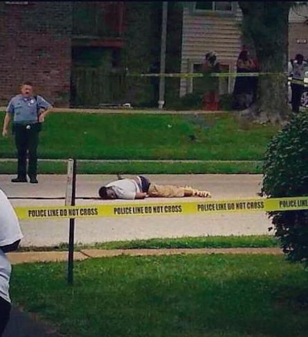 Michael Brown's body lay in the street for over four hours. Like public lynchings, the delay was meant to strike terror in the hearts of the people.
