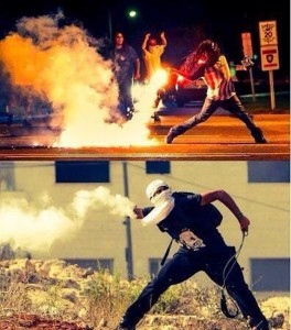 Fighting back in Ferguson and Gaza