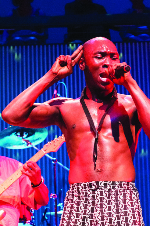 Seun Kuti performs at SF Jazz Center June 24, 2014. - Photo: Asual Aswad, Kwahuumba Photography