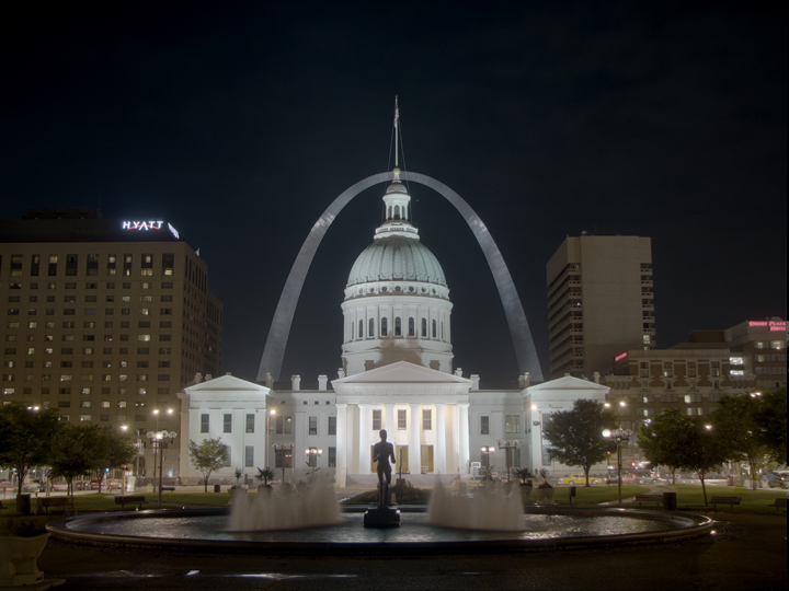 "It was in this courthouse, now known as the Old Courthouse and backed by the iconic St. Louis Gateway Arch, that Dred Scott sued for his and his wife's freedom in 1846, as Missouri was a ""free"" state. Finally, in 1857, Chief Justice Roger B. Taney ruled against Scott in a 7–2 decision, claiming that the authors of the Constitution had viewed all Blacks as ""beings of an inferior order, and altogether unfit to associate with the white race, either in social or political relations, and so far inferior that they had no rights which the white man was bound to respect."" The Dred Scott Decision is widely viewed as the worst decision in the history of the U.S. Supreme Court. Dred Scott is buried just a little way down West Florissant from where Michael Brown was murdered by Ferguson police officer Darren Wilson on Aug. 9."