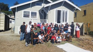 DEECOLONIZE Academy, on the land in Deep East Oakland known as Homefulness, is born! These are a few of the folks who came to the Open House Aug. 30. The other photos were taken at Revolutionary Youth Summer Camp, held at Homefulness this summer. – Photos: Poor News Network