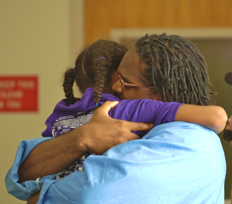 Nothing does more for rehabilitation than a family visit – and CDCR knows it. – Photo: CDCR