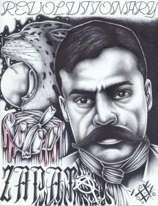 """Zapata"" – Art: Criss Garcia"