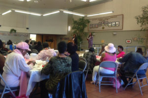 It was a full house at the Alex Pitcher Room for the African American Breast Cancer Conference organized by Concerned Network of Women. By some counts, Bayview Hunters Point has one of the highest rates of breast cancer anywhere, especially among Black women, even young mothers.