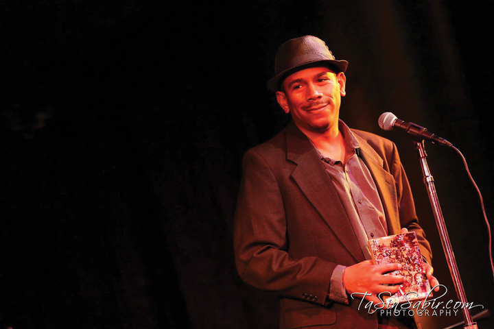 Dev Ross is the genius who keeps media humming as the engineer for KPFA and Black broadcast media. – Photo: TaSin Sabir