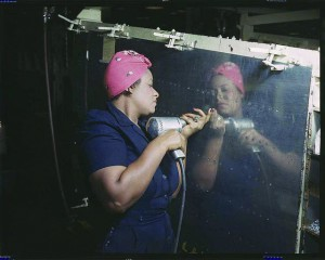 Rosie the riveter, a ubiquitous symbol during World War II of women's emancipation, was Black! Thousands of Black families, recruited mainly from Texas and Louisiana to work in West Coast shipyards during a severe labor shortage, came and stayed. With all working-age family members employed, Black families scrimped and saved and bought homes and commercial property. That's how Bayview Hunters Point's homeownership rate became the highest in San Francisco.