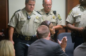 Sahara-Fakhir-jury-verdict-announced-092914-by-Daniel-Lumpkin-Douglas-County-Sentinel-300x198, The truth and lies that targeted and convicted Sahara Fakhir, an Islamic activist, Behind Enemy Lines